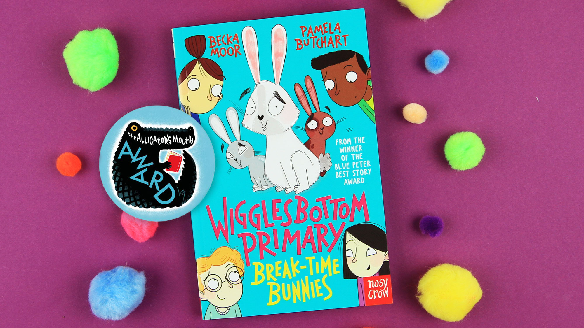 Wigglesbottom Primary: Break-Time Bunnies longlisted for the 2021 Alligator's Mouth Award