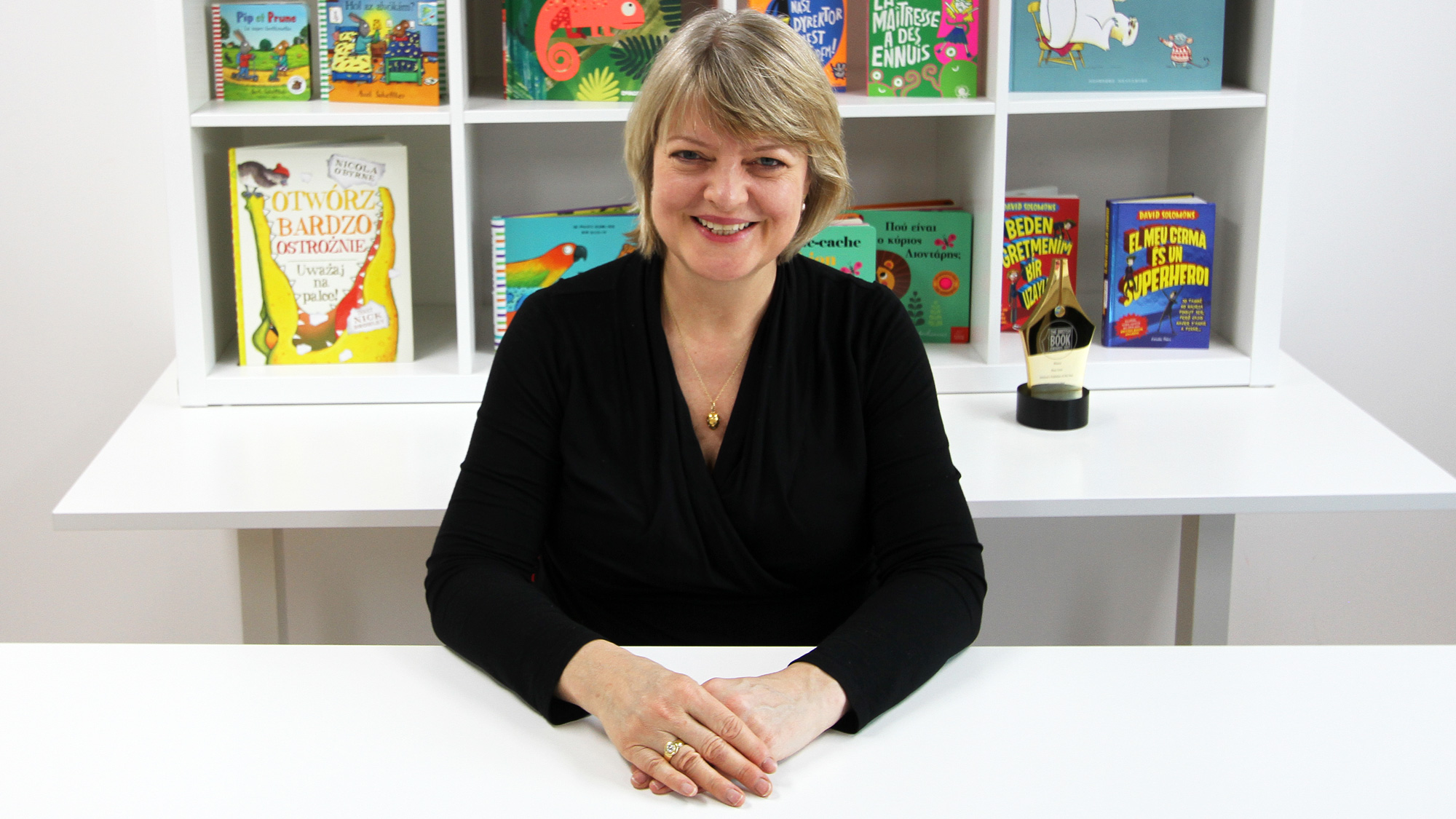 Nosy Crow's Kate Wilson shortlisted for the 2021 Women & Home Amazing Women Awards!