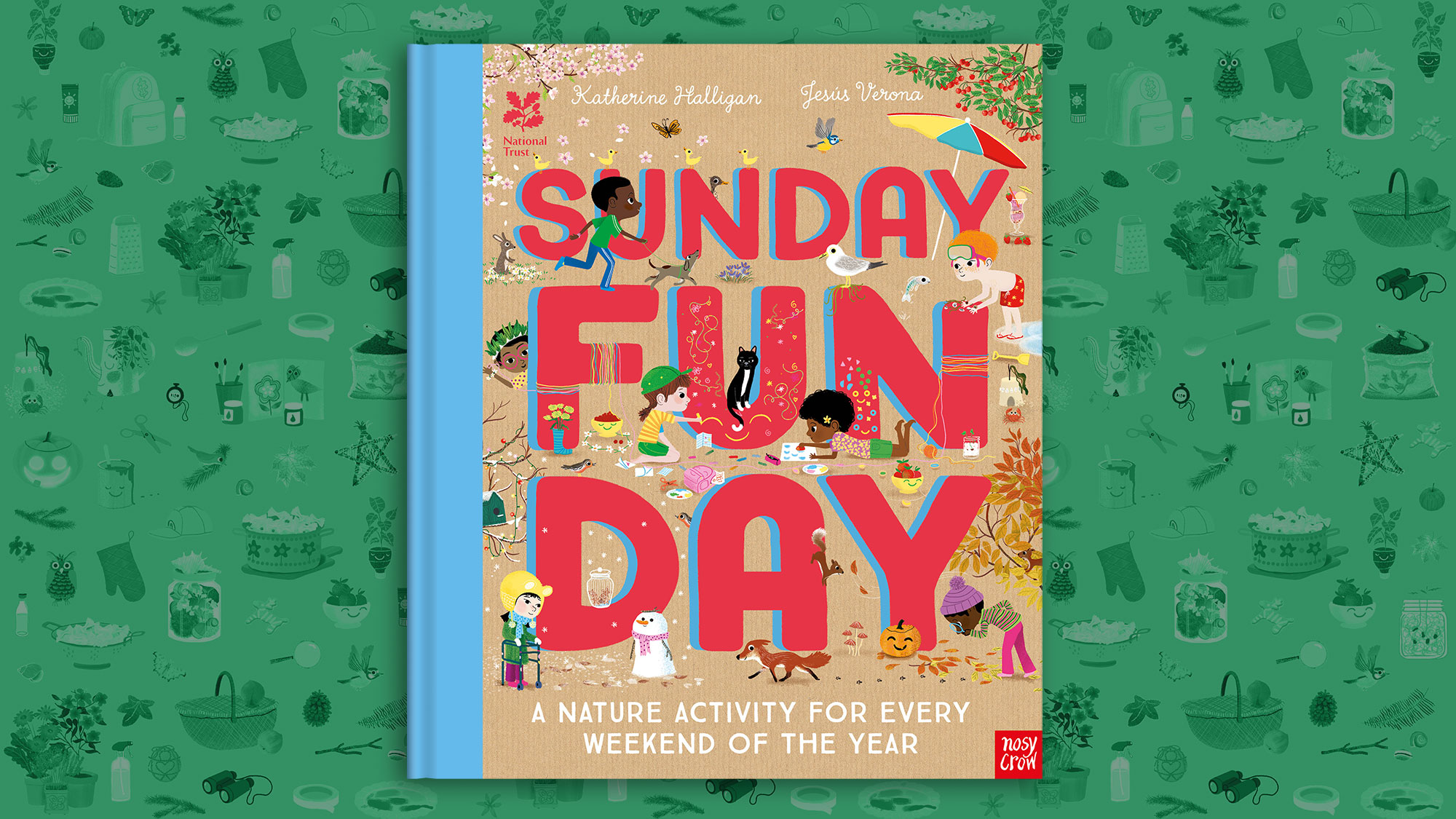 Take a look inside Sunday Funday: A Nature Activity For Every Day of the Year