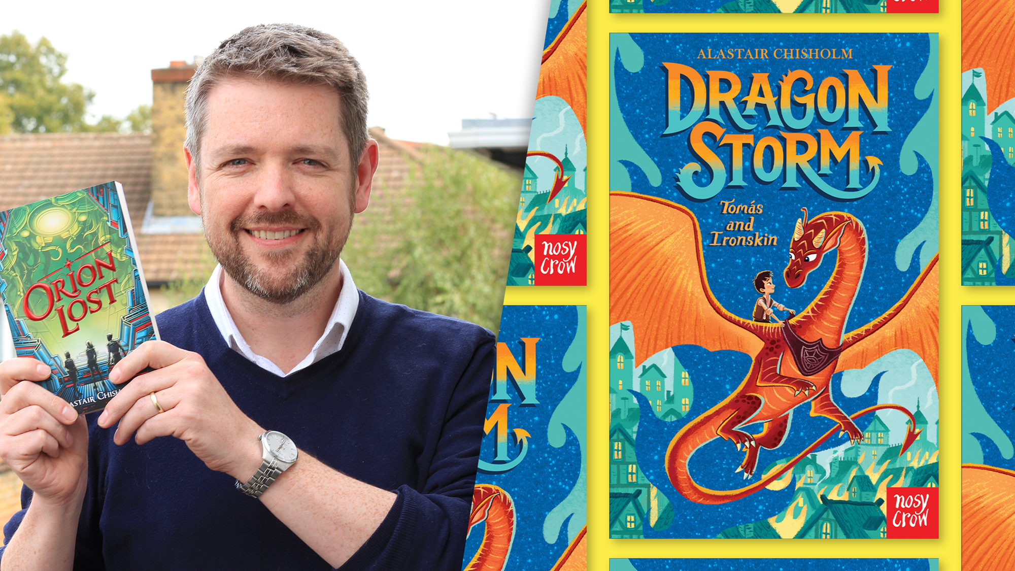 Nosy Crow announces exciting new titles from Waterstones Children's Book Prize-shortlisted author Alastair Chisholm