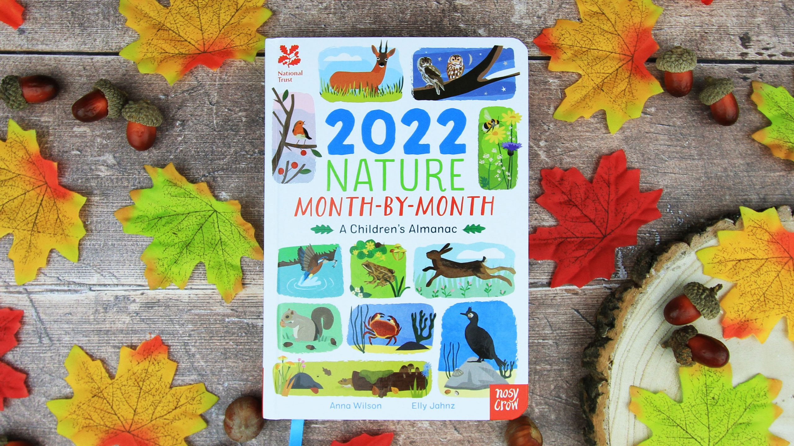 Take a look inside our 2022 Children's Almanac
