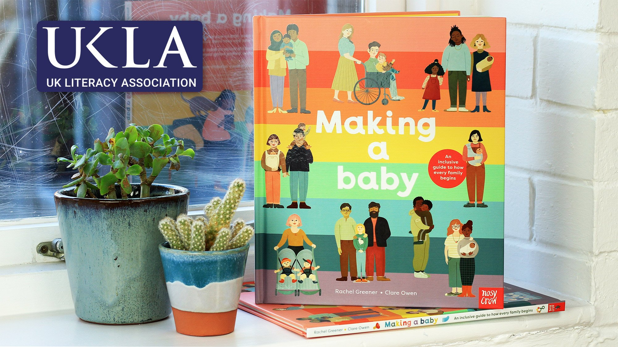 Making a Baby has been longlisted for UKLA Book Awards