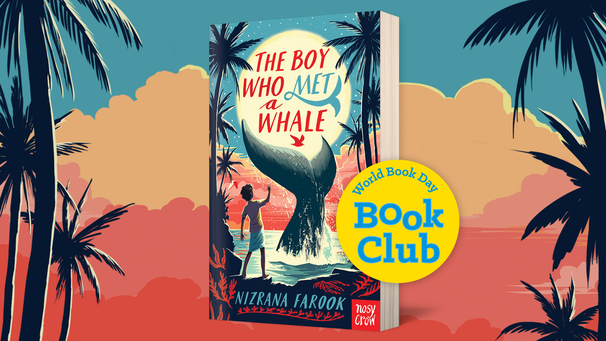 The Boy Who Met a Whale is World Book Day's October Book Club Pick!