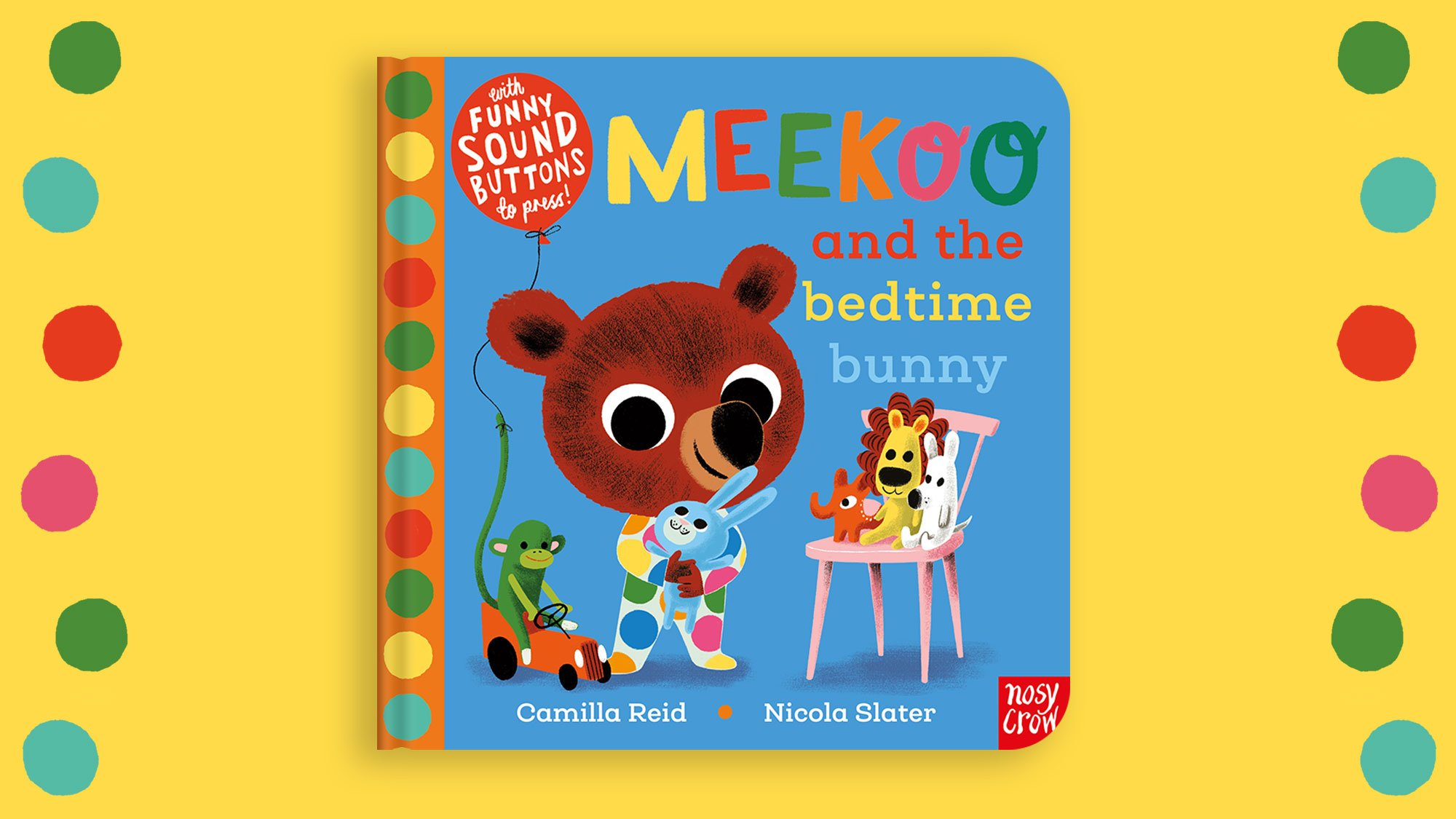 Take a look inside Meekoo and the Bedtime Bunny