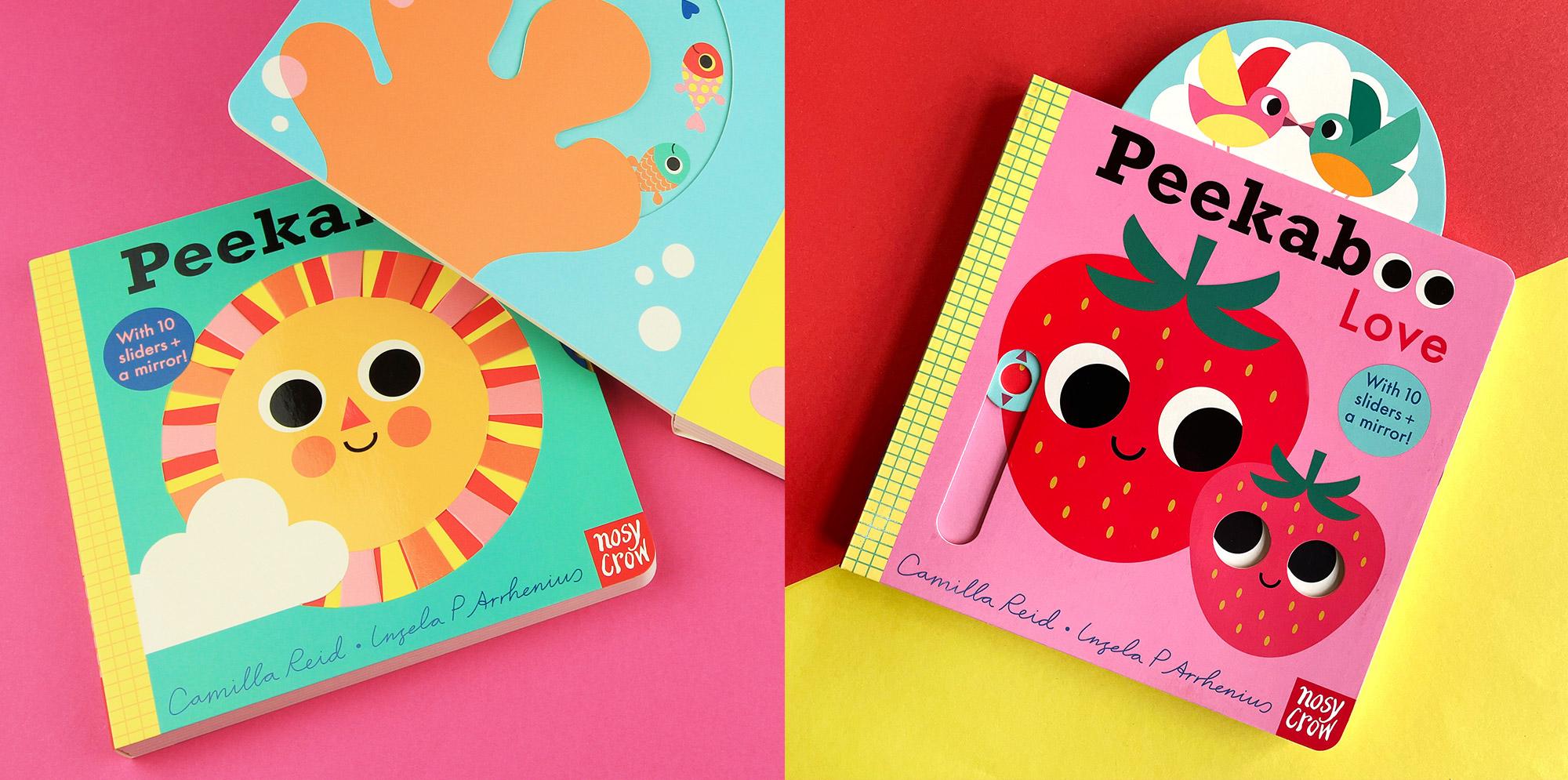 Peekaboo series by Ingela P Arrhenius and Camilla Reid