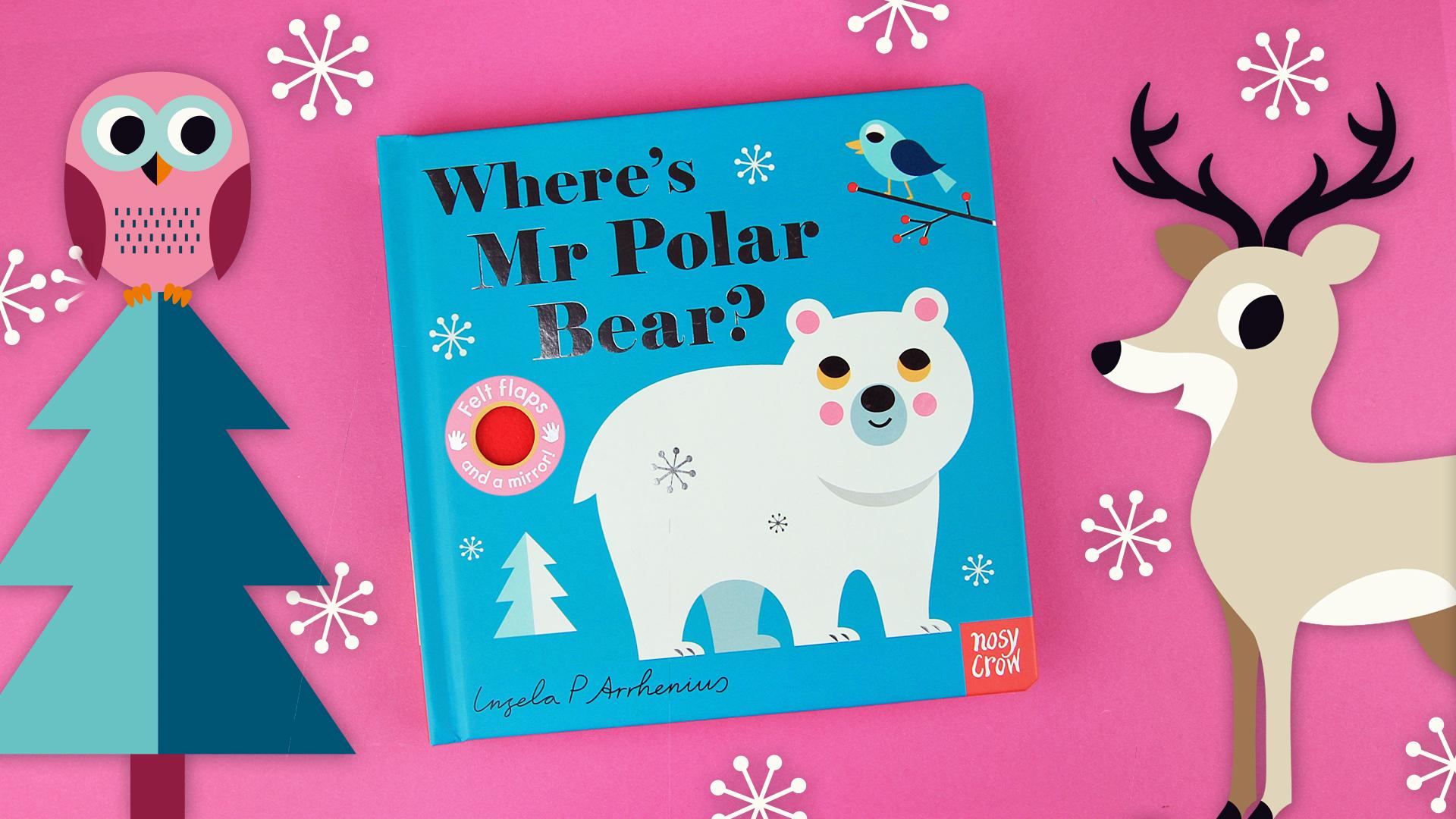 Take a look inside Where's Mr Polar Bear